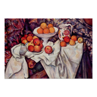 Paul Cezanne Art Poster