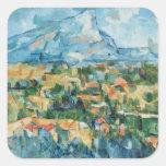 Paul Cezanne Art Square Sticker