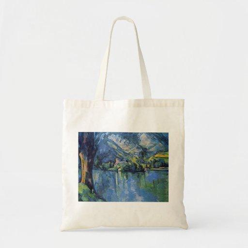 Paul Cezanne Artwork Canvas Bag