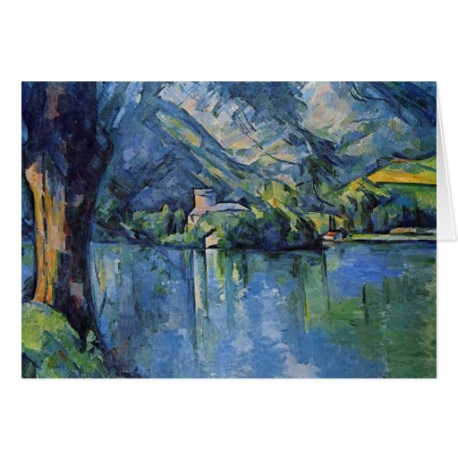 Paul Cezanne Artwork Card