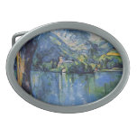 Paul Cezanne Artwork Oval Belt Buckles
