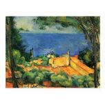 Paul Cezanne Artwork Postcard