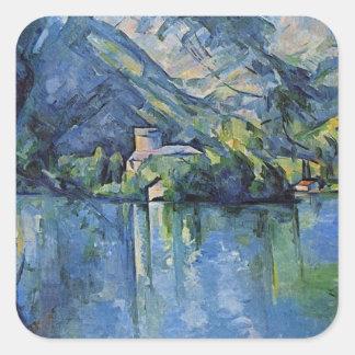 Paul Cezanne Artwork Square Sticker