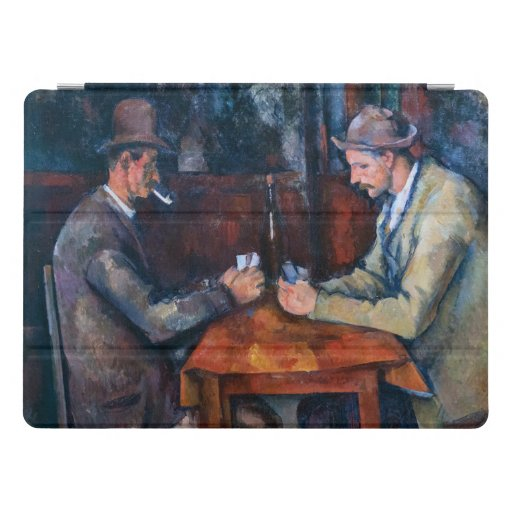 Paul Cezanne artwork - The Card Players iPad Pro Cover