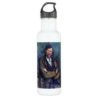Paul Cezanne - autorretrato Botella De Agua De Acero Inoxidable