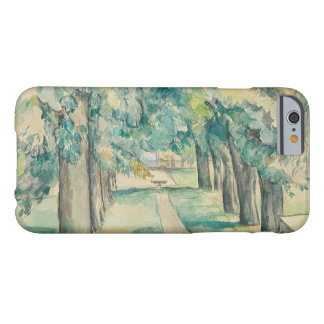 Paul Cezanne - Avenue of Chestnut Trees Barely There iPhone 6 Case