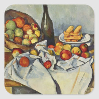 Paul Cezanne-  Basket of Apples Sticker