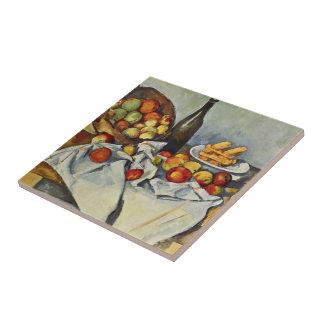 Paul Cezanne-  Basket of Apples Ceramic Tile