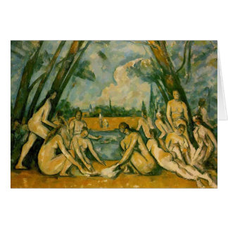 Paul Cezanne - Bathers Card