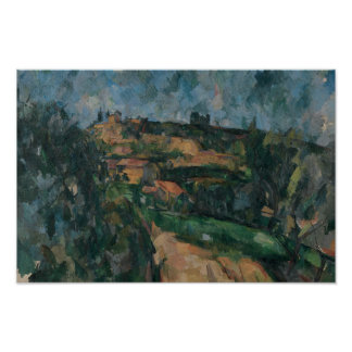Paul Cezanne - Bend Of The Road Poster