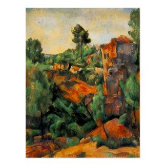 Paul Cezanne- Bibemus Quarry Postcard