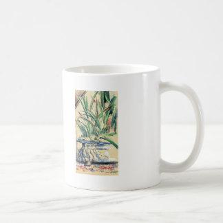 Paul Cezanne- Blue Flowerpot Classic White Coffee Mug