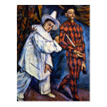 Paul Cezanne - carnaval Postales