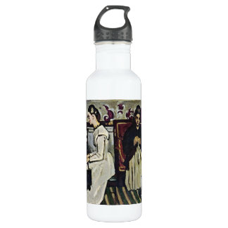 Paul Cezanne - chica en el piano Botella De Agua
