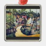 Paul Cezanne - curva del camino Adorno De Reyes