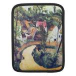 Paul Cezanne - curva del camino Mangas De iPad