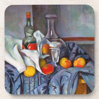 Paul Cézanne de la hierbabuena todavía de la botel Posavaso