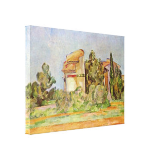 Paul Cezanne - dovecot at Montbriant Gallery Wrap Canvas