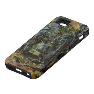 Paul Cezanne- el callejón en Chantilly iPhone 5 Case-Mate Protector