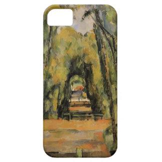 Paul Cezanne- el callejón en Chantilly iPhone 5 Cobertura