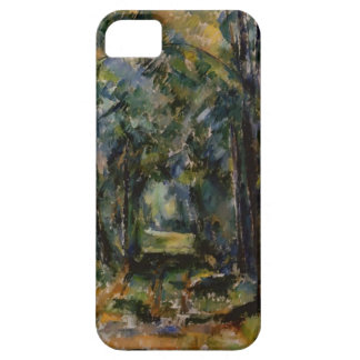 Paul Cezanne- el callejón en Chantilly iPhone 5 Case-Mate Protectores