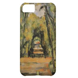 Paul Cezanne- el callejón en Chantilly