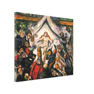 Paul Cezanne - el femenino eterno Lona Envuelta Para Galerias