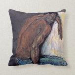 Paul Cezanne - el negro Scipio Cojín