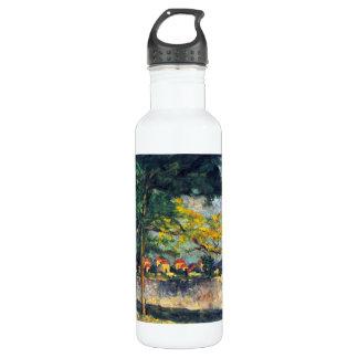 Paul Cezanne - en la calle Botella De Agua De Acero Inoxidable