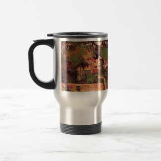 Paul Cezanne- Etude - Paysage a Auvers 15 Oz Stainless Steel Travel Mug