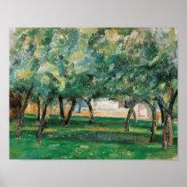 Paul Cezanne - Farm in Normandy Poster