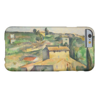 Paul Cezanne - Fields at Bellevue Barely There iPhone 6 Case