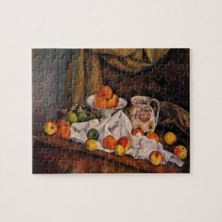 Paul Cezanne- Fruit Bowl, Pitcher and Fruit Jigsaw Puzzles