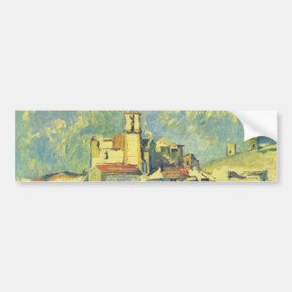 Paul Cezanne - Gardanne Bumper Sticker