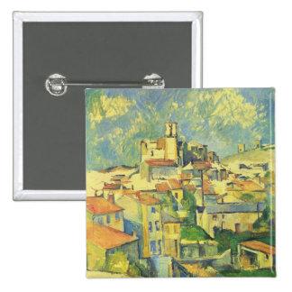 Paul Cezanne - Gardanne Pinback Button