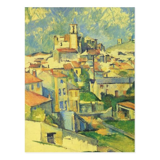 Paul Cezanne - Gardanne Post Card