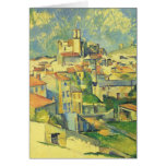 Paul Cezanne - Gardanne Tarjeta