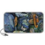 Paul Cezanne - Girl with Doll Notebook Speaker