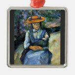 Paul Cezanne - Girl with Doll Ornaments