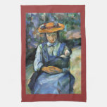 Paul Cezanne - Girl with Doll Towels