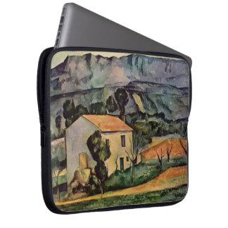 Paul Cezanne- Houses in Provence, near Gardanne Computer Sleeve