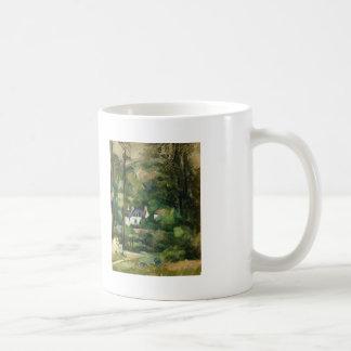 Paul Cezanne- Houses in the Greenery Mugs