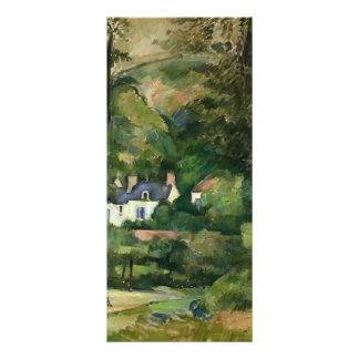 Paul Cezanne- Houses in the Greenery Rack Card Template