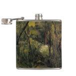 Paul Cezanne- In the Woods Hip Flasks