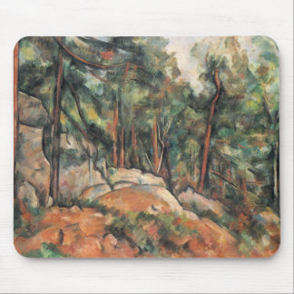 Paul Cezanne - In The Woods Mouse Pad