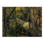 Paul Cezanne- In the Woods Post Card