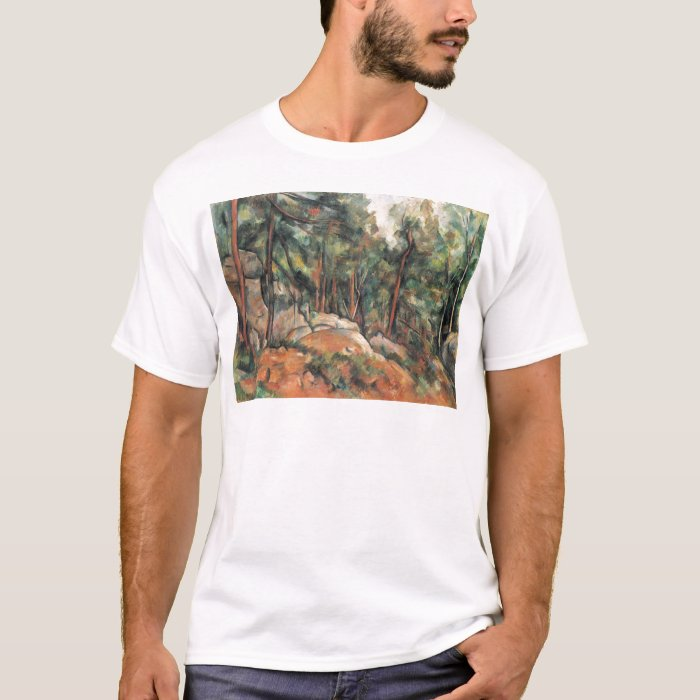 Paul Cezanne - In The Woods T-Shirt