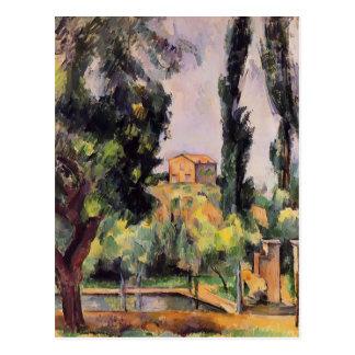 Paul Cezanne- Jas de Bouffan Postcard