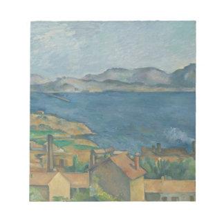 Paul Cézanne - la bahía de Marsella Blocs