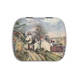 Paul Cezanne- la casa del Dr. Gached en Auvers Latas De Caramelos